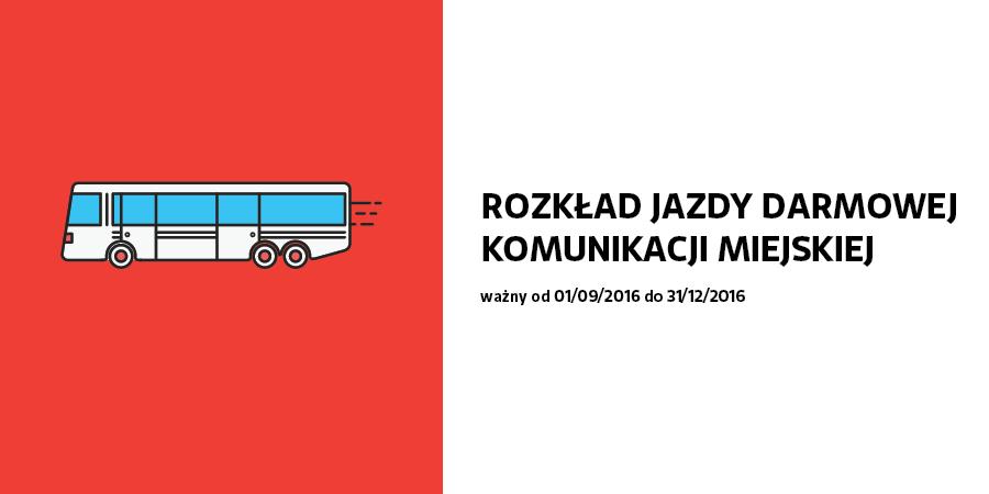 Od 1 września nowa trasa miejskiego busa