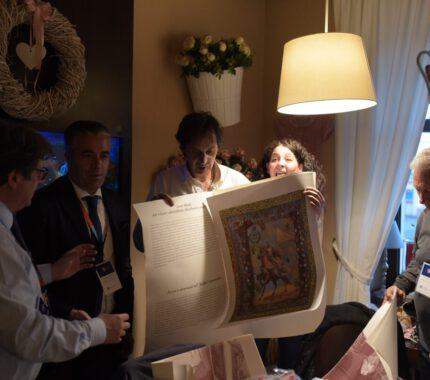 Goście z miast partnerskich na obchodach urodzin Jana Pawła II