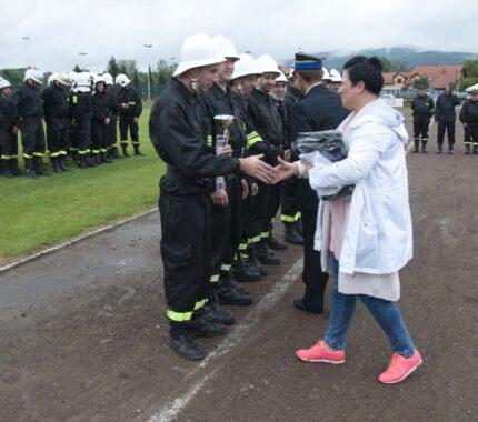 Zmagania strażaków w Gminnych Zawodach Sportowo Pożarniczych