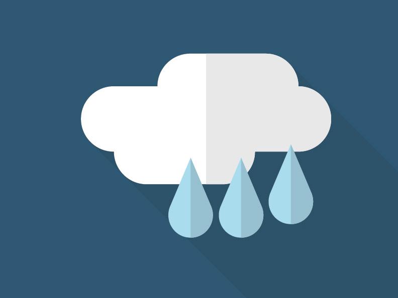 [OSTRZEŻENIE] Intensywne opady deszczu