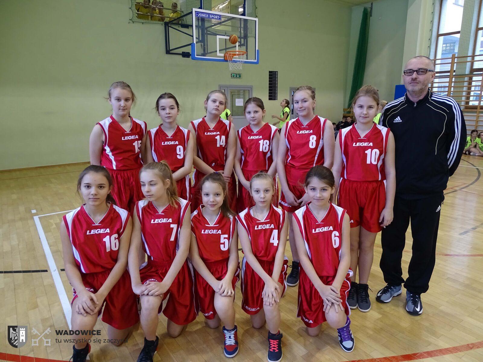 Turniej Finałowy Gminy Wadowice w Minikoszykówce dziewcząt