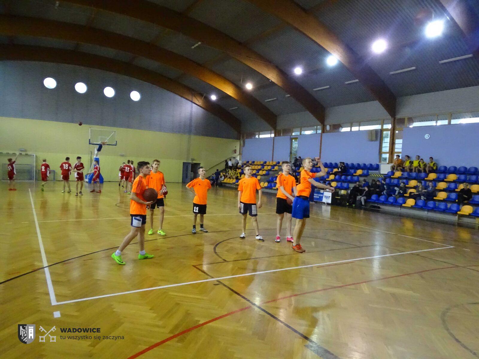 Za nami rozgrywki chłopców w koszykówce w ramach Igrzysk Młodzieży Szkolnej