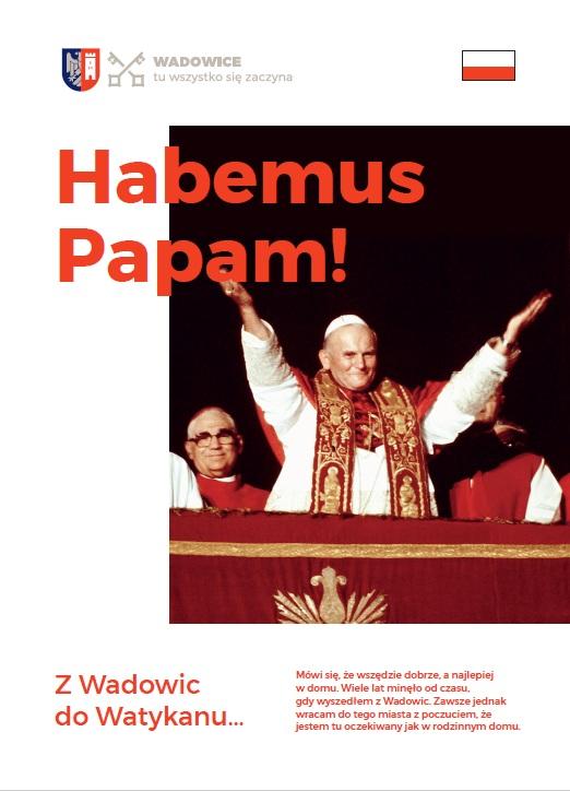 40. rocznica pontyfikatu Jana Pawła II – nowe wydawnictwo Gminy Wadowice