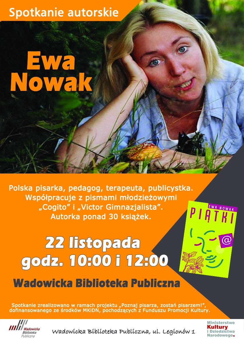 Spotkanie z Ewą Nowak