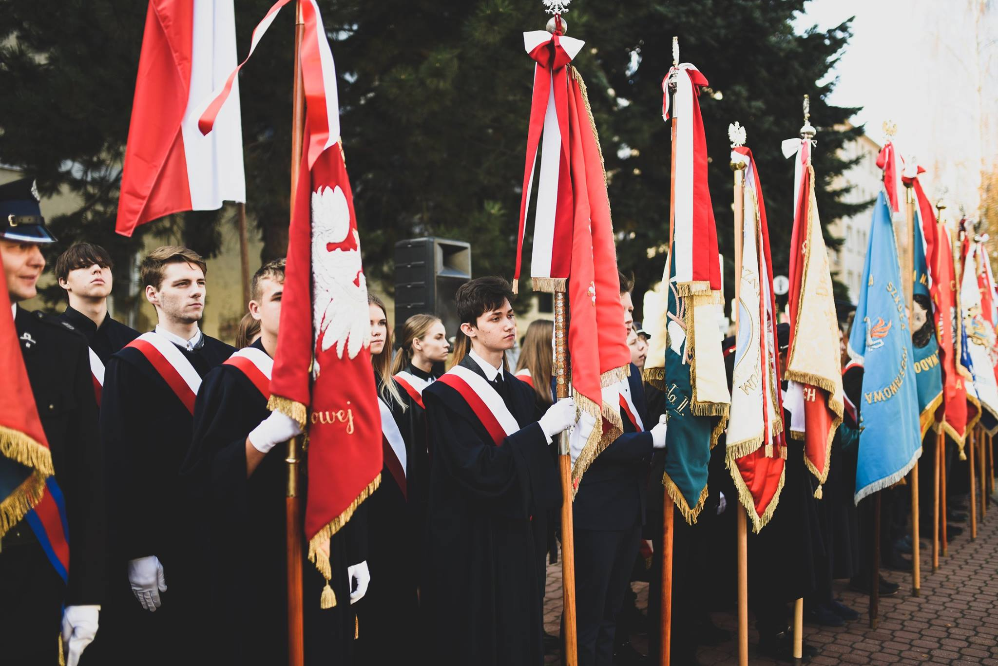 Radosne świętowanie niepodległości w Wadowicach
