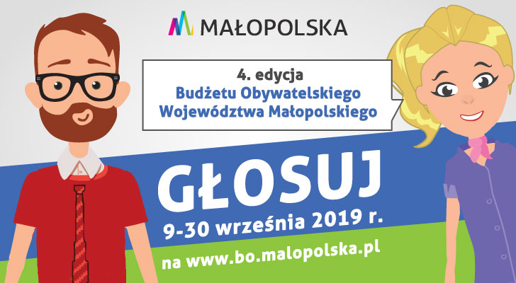 Ruszyło głosowanie w Budżecie Obywatelskim Województwa Małopolskiego