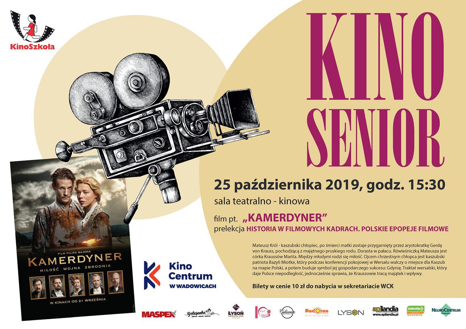 Kino Senior: Kamerdyner