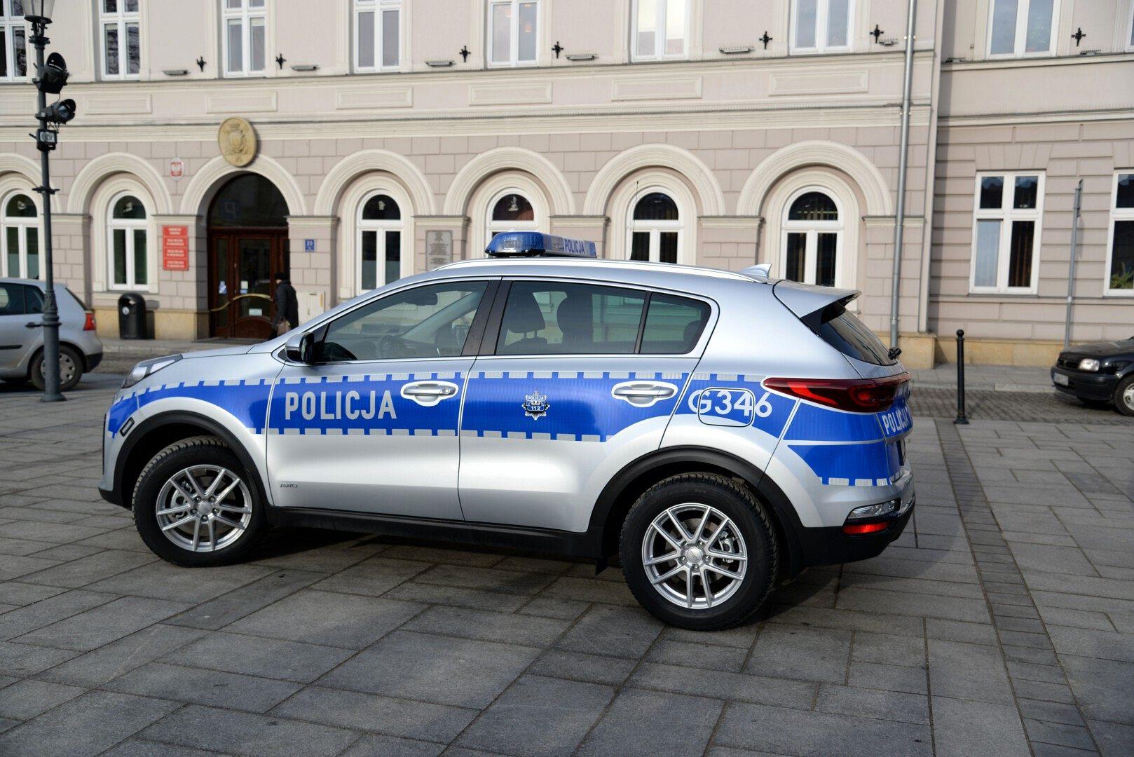 Nowy radiowóz dla KPP Wadowice