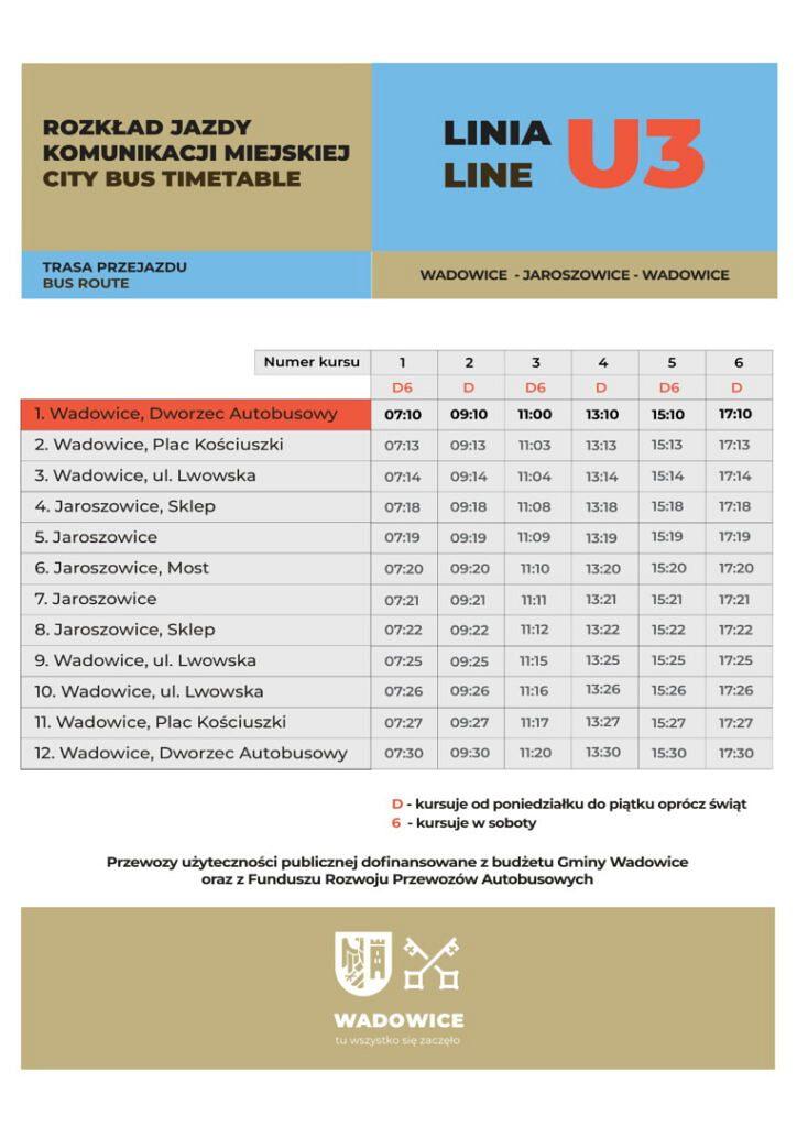 Linia U3 wersja 2 01 724x1024 - Komunikacja zbiorowa