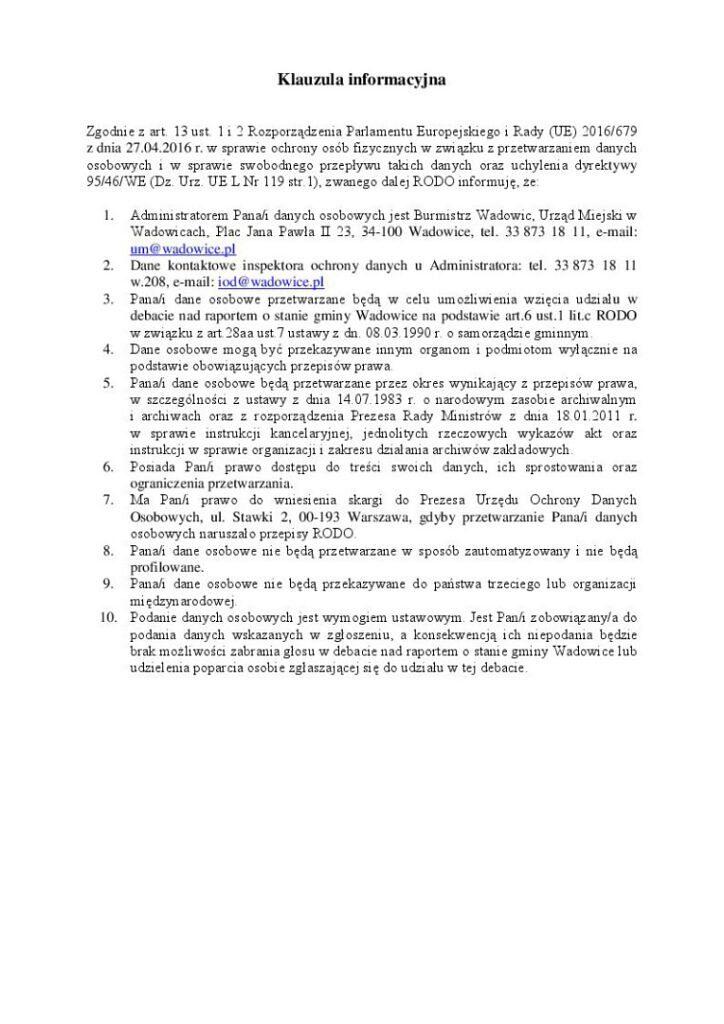 4 724x1024 - Mieszkańcu, możesz wziąć udział w debacie nt. raportu o stanie gminy