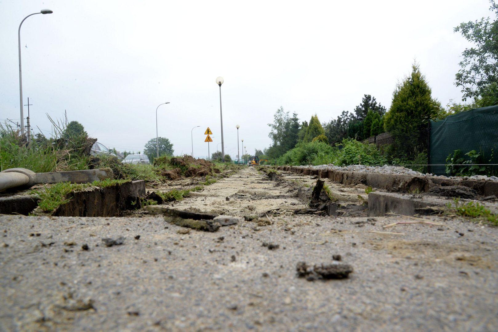 Ruszyła budowa tras rowerowych w Wadowicach!
