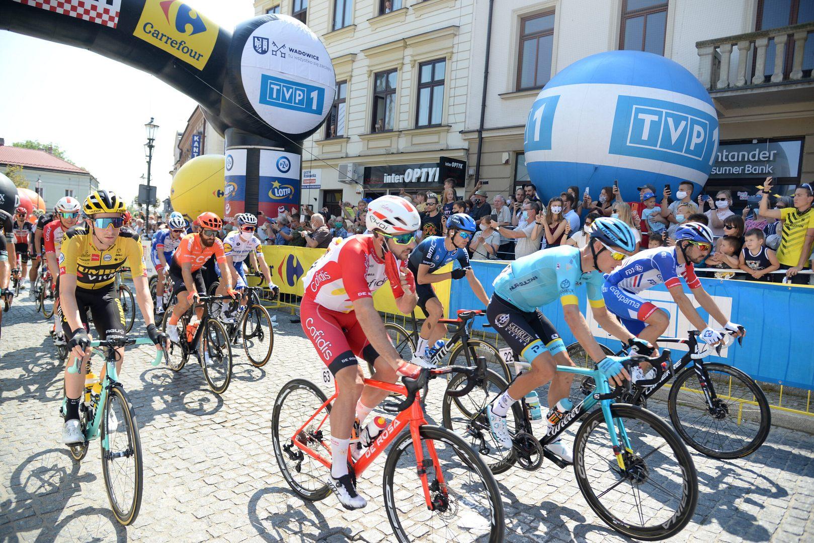Tak wyglądał start Tour de Pologne w Wadowicach!