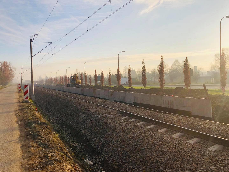 Ruszyła budowa nowego peronu przy Podhalaninie