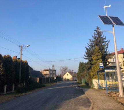 Remont ulicy Głównej w Choczni na ostatniej prostej