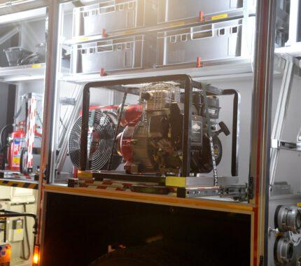 Strażacy z Jaroszowic przywitali nowy wóz