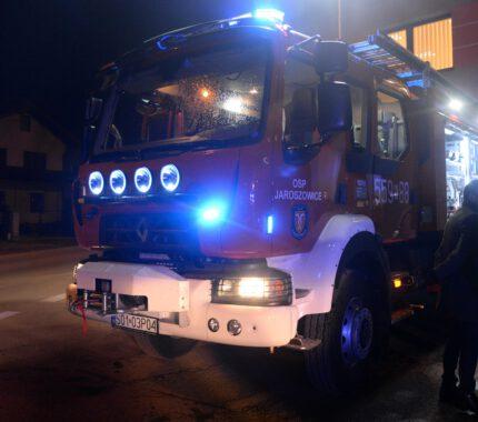 Nowy wóz strażacki OSP Jaroszowice