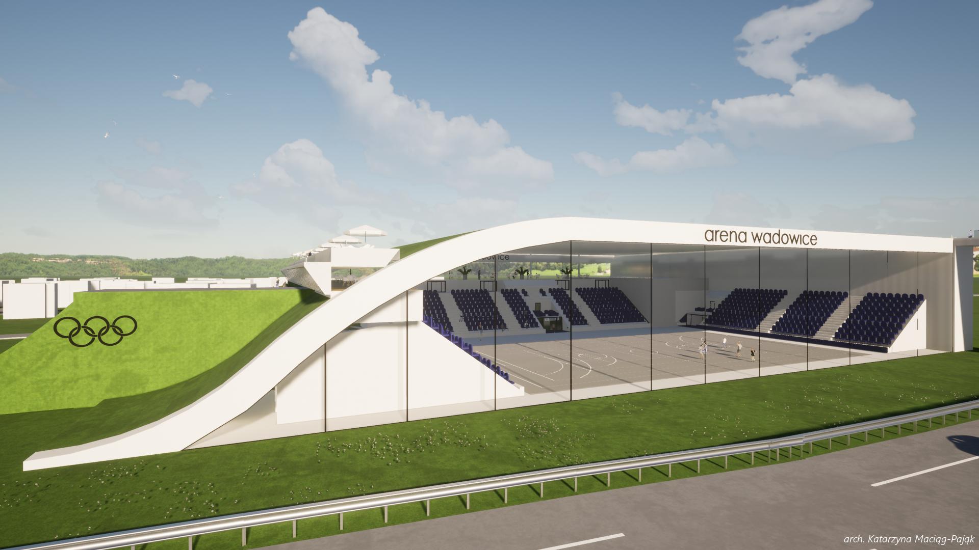 Tak ma wyglądać Arena Wadowice!