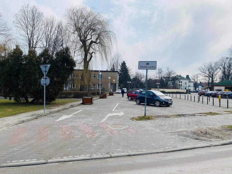 Parking na ulicy Wojtyłów ponownie otwarty