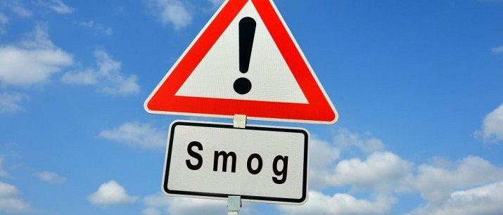 Ostrzeżenie 1 stopnia o zanieczyszczeniu powietrza