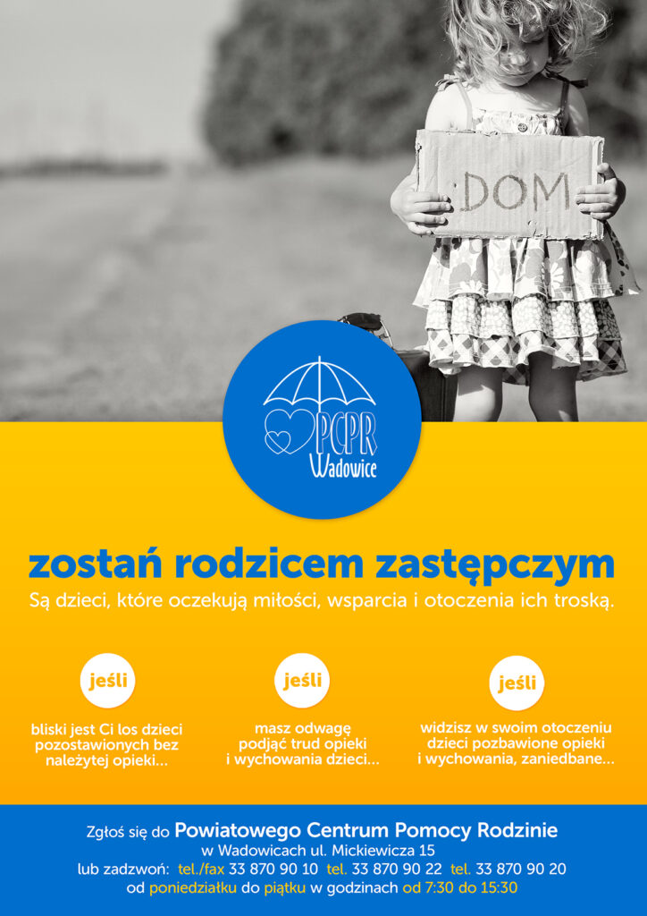 plakat 2 1 724x1024 - Zostań rodzicem zastępczym