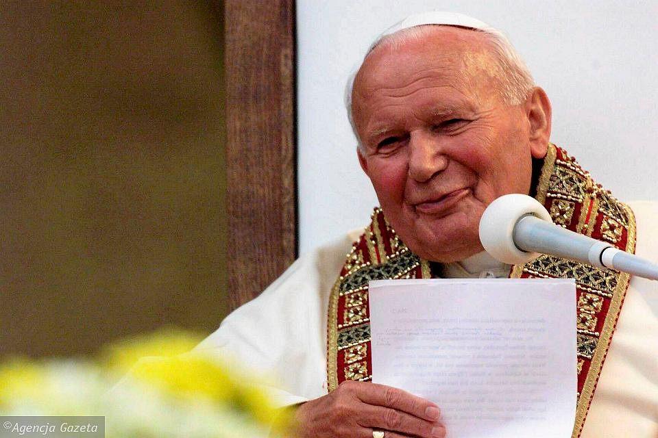 z16137114VJan Pawel II w Wadowicach 1999  - 16. rocznica śmierci Świętego Jana Pawła II