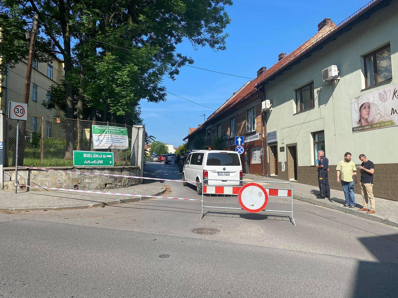 Uwaga! Czasowe zamknięcie ulicy Szpitalnej w Wadowicach