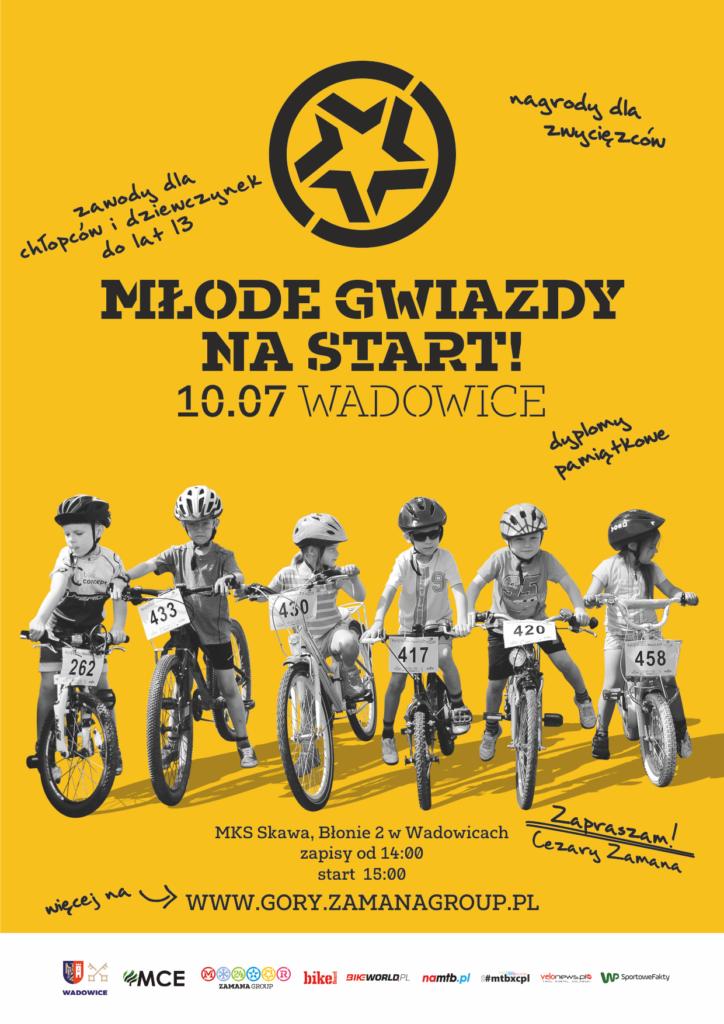 GwPD plakat dzieci A4 2021 ok 724x1024 - Rowerowa Gwiazda Południa coraz bliżej! Trwają zapisy dla dzieci i dorosłych