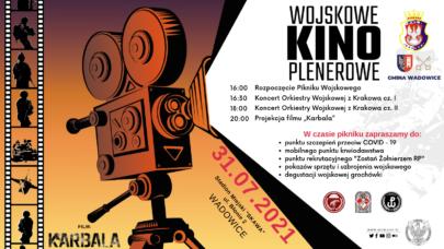 W sobotę Wojskowe Kino Plenerowe!