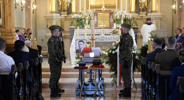 Uroczystości pogrzebowe kpt. Wojciecha Stypuły