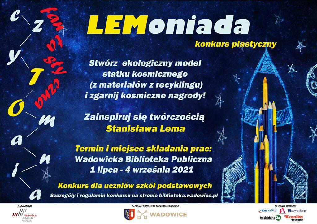 lemoniada plakat kalendarz 1024x724 - Wakacyjne warsztaty i ekokonkurs, czyli nowa odsłona czyTOmanii