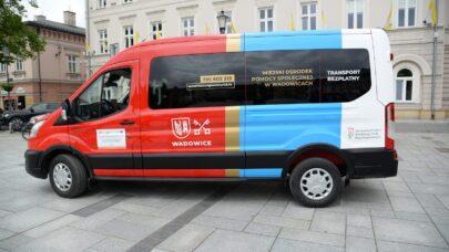 Bezpłatny transport – pomysł, który się sprawdził w gminie Wadowice
