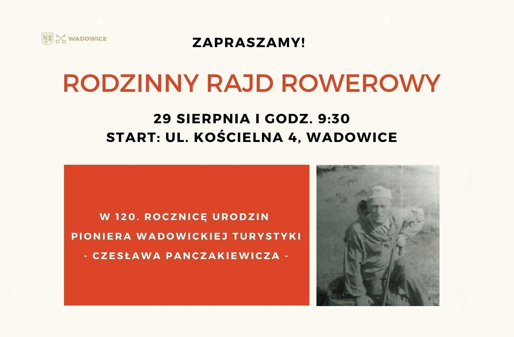 Rodzinny Rajd Rowerowy A.D. 2021 – ZAPISY!