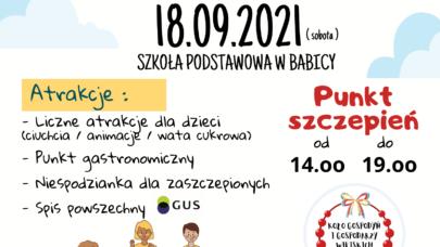 """""""Witaj Szkoło"""" Szczepimy się z KGW – Festyn w Babicy"""