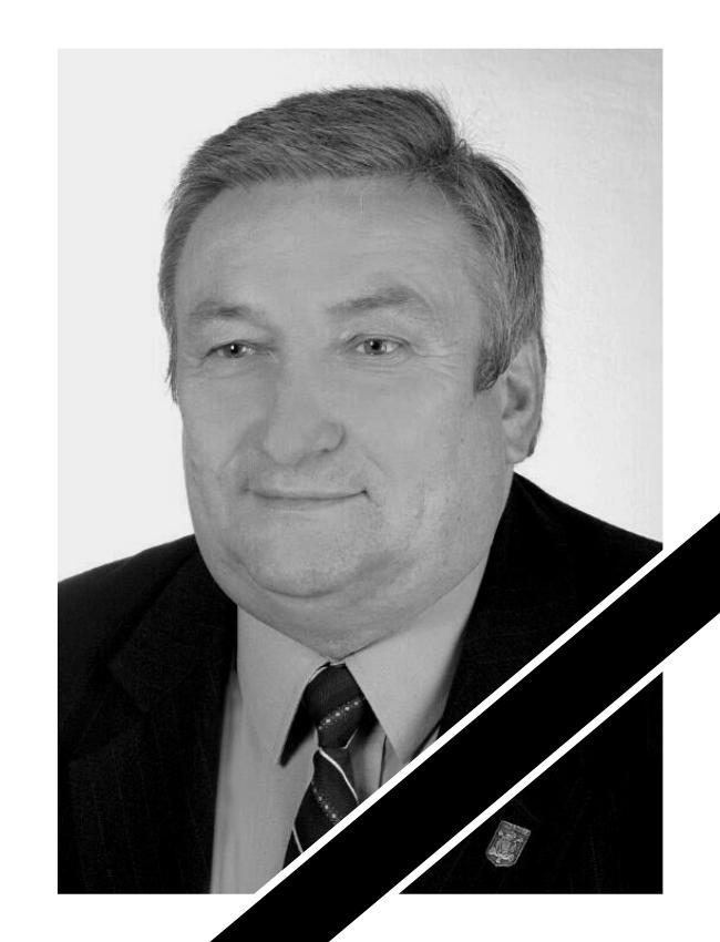 Kopia Kopia Bez tytulu 4 - Z głębokim żalem i smutkiem informujemy o śmierci Wiceprzewodniczącego Rady Miejskiej w Wadowicach Józefa Cholewki