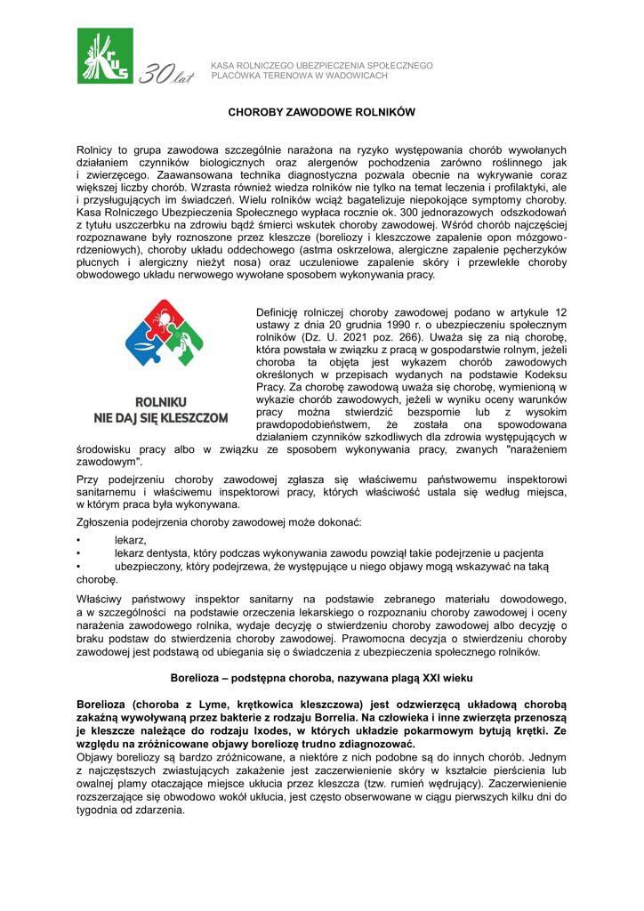 choroby zawodowe rolnikow PT Wadowice 1 724x1024 - Choroby zawodowe rolników