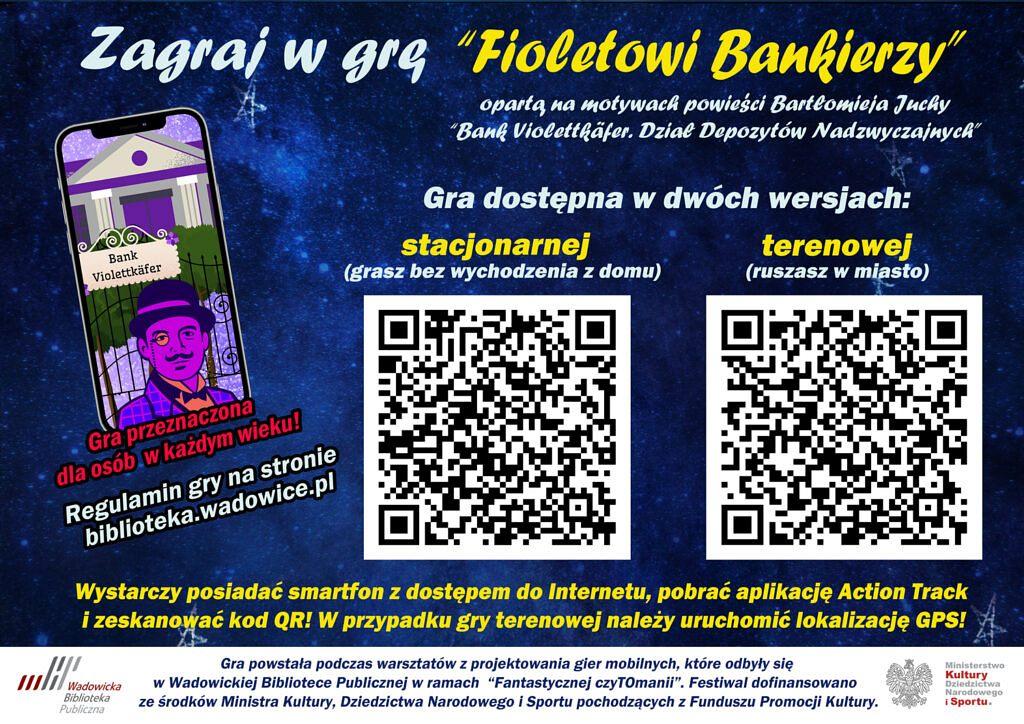popremierowy plakat facebook 1024x724 - Dołącz do załogi Banku Violettkäfer i ruszaj po przygodę!